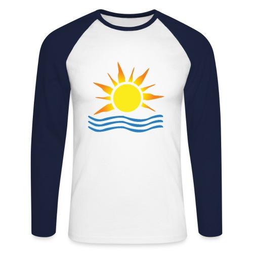 Sunset Surf - Men's Long Sleeve Baseball T-Shirt