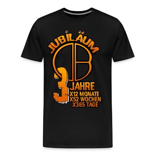 3.Jubiläum Premium T-Shirt Herren - Männer Premium T-Shirt