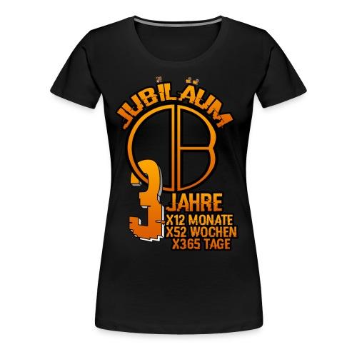 3.Jubiläum Premium T-Shirt Frauen - Frauen Premium T-Shirt