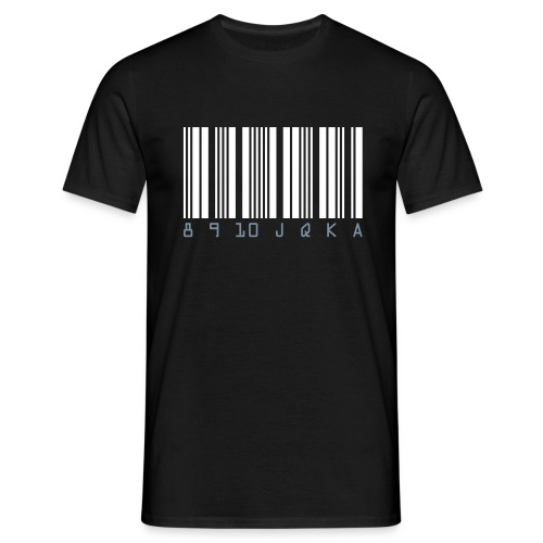 Code barre... - T-shirt Homme