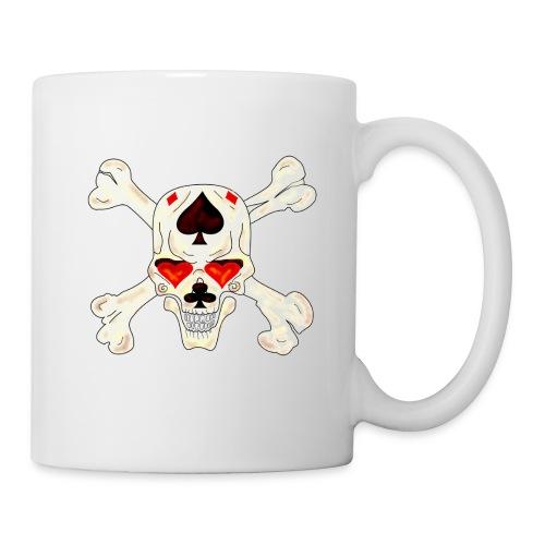 Mug Skull bones - Mug blanc