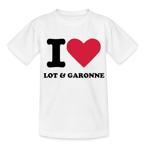 I love Lot et Garonne - T-shirt Ado