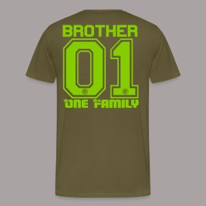 BROTHER One Familiy - Männer Premium T-Shirt