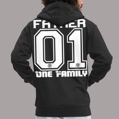 FATHER One Familiy - Männer Premium Kapuzenjacke
