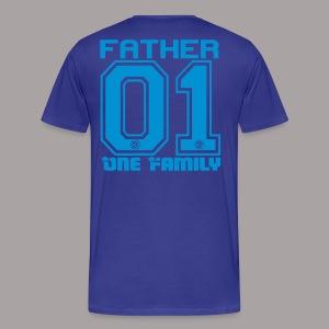 FATHER One Familiy - Männer Premium T-Shirt