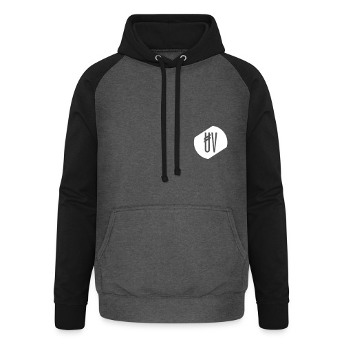 Second Edition Duo-Hoodie 1 - White Logo - Men - Unisex Baseball Hoodie