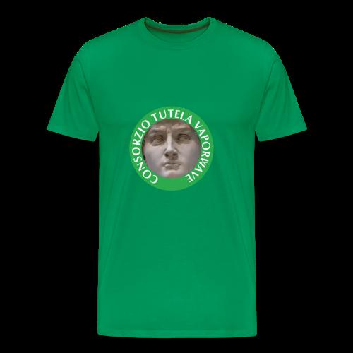 CONSORZIO TUTELA VAPORWAVE GREEN TEE - Maglietta Premium da uomo
