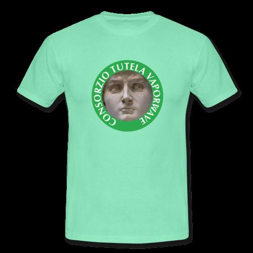 CONSORZIO TUTELA VAPORWAVE CHEAP TEE - Maglietta da uomo