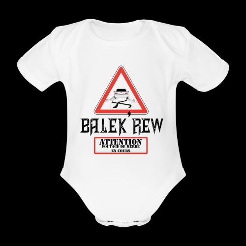 body balek'bébé - Body bébé bio manches courtes