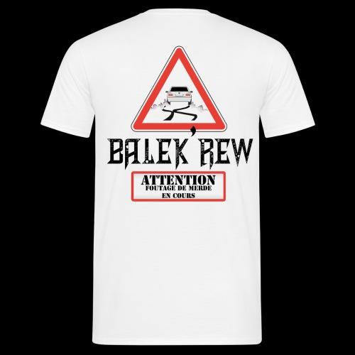 balek'panneau homme - T-shirt Homme