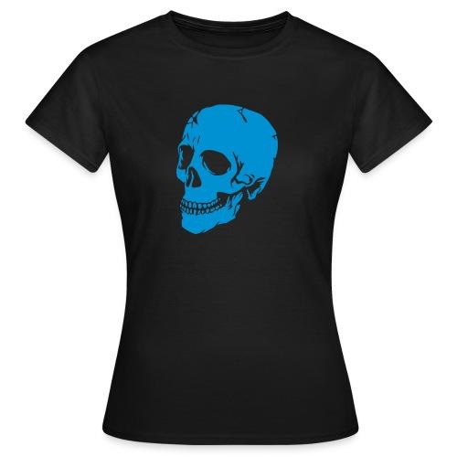tee-shirt tête de mort - T-shirt Femme