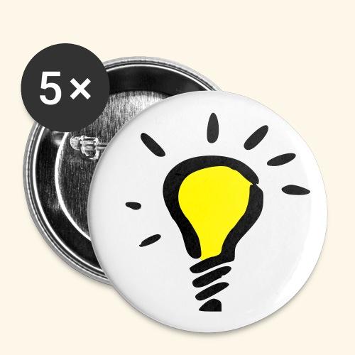 kreativ - Små knappar 25 mm (5-pack)