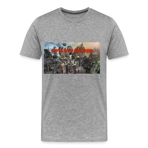 Banner Shirt - Men's Premium T-Shirt