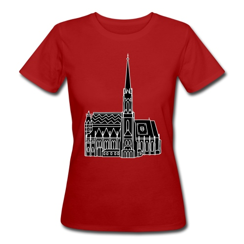 Stephansdom Wien 2 - Frauen Bio-T-Shirt