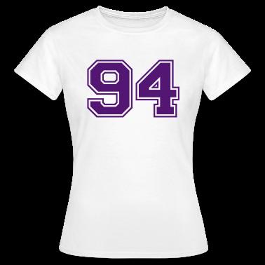 White 94 Women's T-Shirts