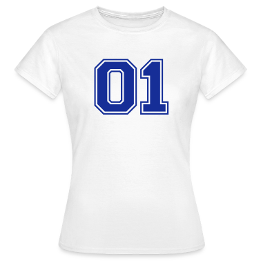 White 01 Women's T-Shirts
