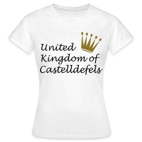Castelldefels - Camiseta mujer
