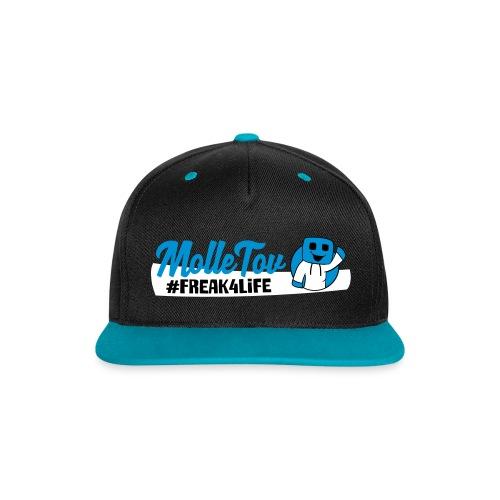 MolleTov Kontrast snapback cap - Kontrast snapback cap