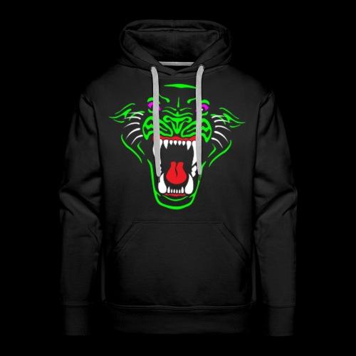 RadioActive Panther Stealth Hoodie - Men - Men's Premium Hoodie