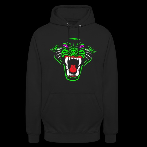 RadioActive Panther Stealth Hoodie - Women - Unisex Hoodie