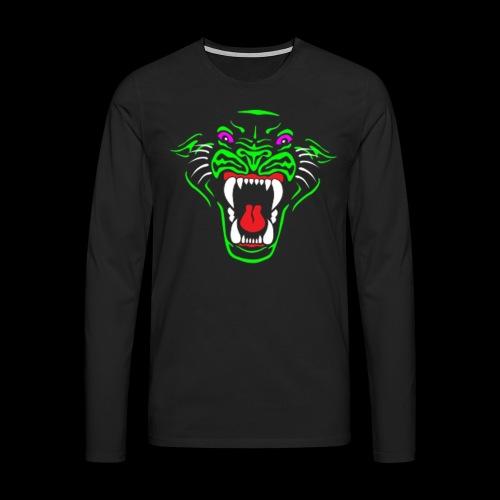 RadioActive Panther Stealth Long Sleeve - Men - Men's Premium Longsleeve Shirt