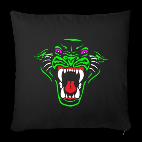RadioActive Panther Soft Cussion - Sofa pillow cover 44 x 44 cm