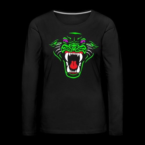 RadioActive Panther Stealth Long Sleeve - Women - Women's Premium Longsleeve Shirt