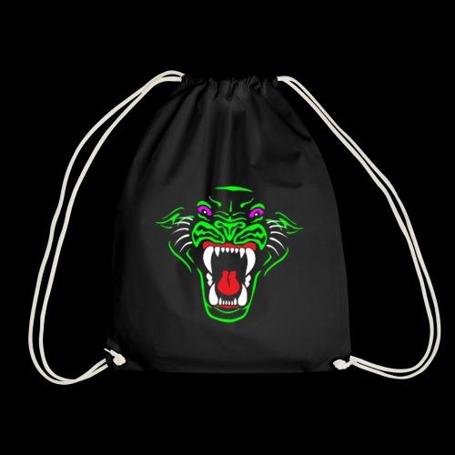 RadioActive Panther Bag - Drawstring Bag