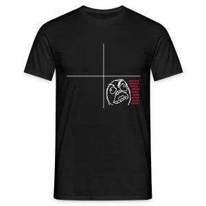 FUUUUUUUUU noir - T-shirt Homme