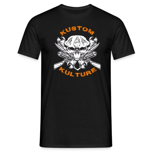 Triple Skull - T-shirt Homme