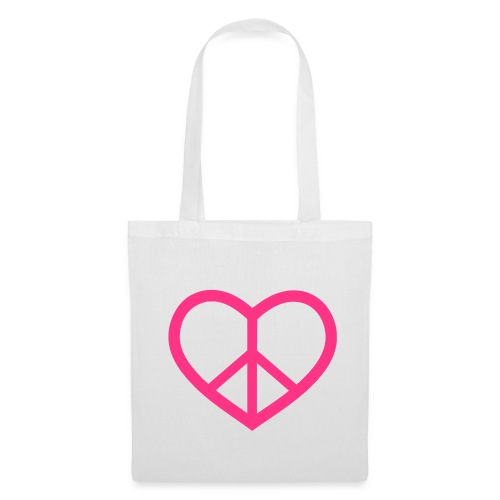 Women's pace&love bag - Tote Bag