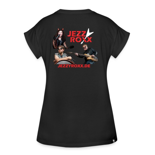 JEZZY ROXX Girlie Shirt - Frauen Oversize T-Shirt
