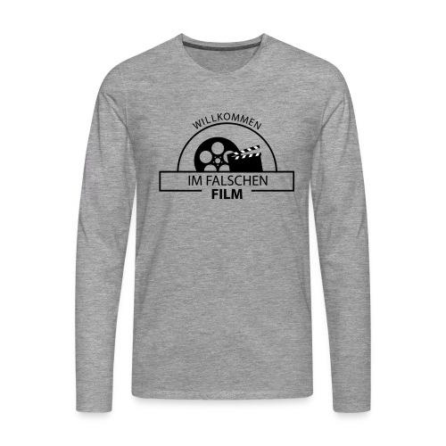 Falscher Film - Männer Premium Langarmshirt