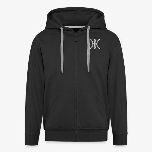 HHH Logo Jacket (Flock) - Männer Premium Kapuzenjacke