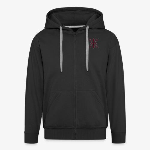 HHH Logo Jacket - Männer Premium Kapuzenjacke