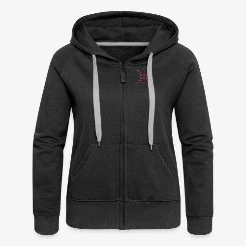 HHH Logo Girlie Jacket - Frauen Premium Kapuzenjacke
