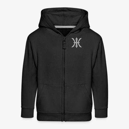 HHH Logo Kids Jacket (Flock) - Kinder Premium Kapuzenjacke