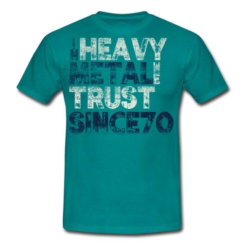 InMetalWeTrustsince70 - Herre-T-shirt