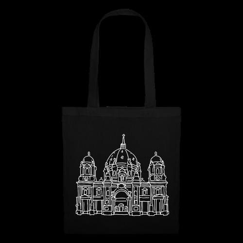 Berliner Dom (silber-metallic) - Stoffbeutel