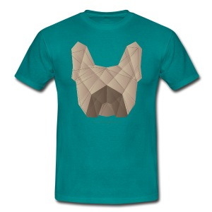 Geometric Frenchie fawn