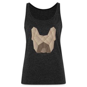 Geometric Frenchie fawn