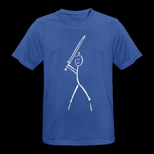 Langschwertfechter - Männer T-Shirt atmungsaktiv