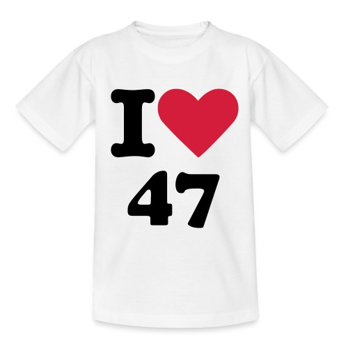I love 47 - T-shirt Ado