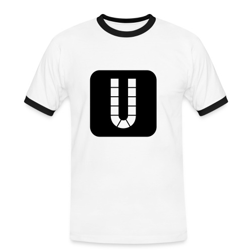 Dortmunder U - Männer Kontrast-T-Shirt