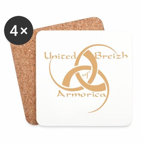 United Breizh of Armorica 17A04 - Dessous de verre (lot de 4)