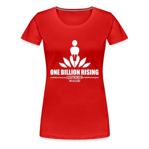 Leutkirch1-fbg - Frauen Premium T-Shirt