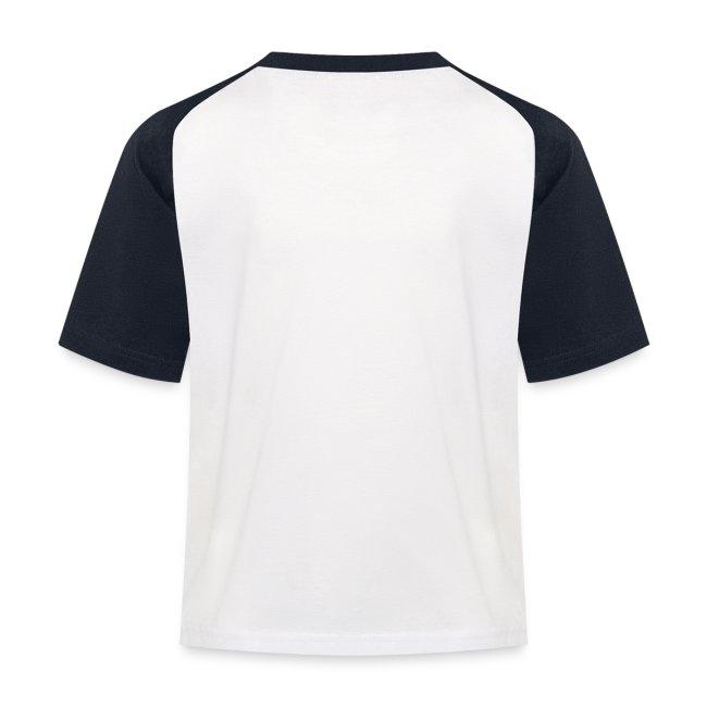Happy Camper Kinder Kontrast T-Shirt