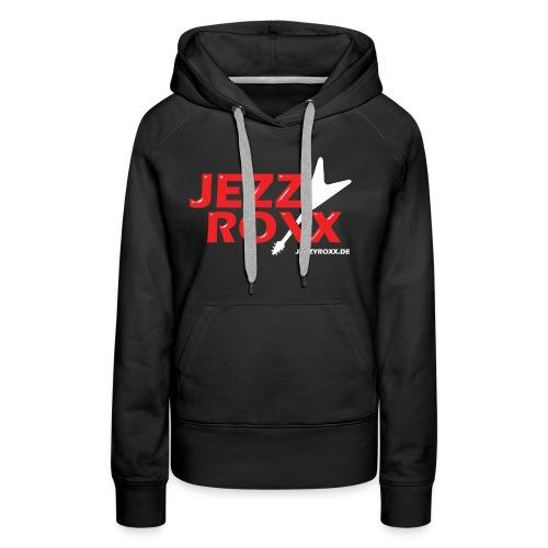JEZZY ROXX Hoodie schwarz - Frauen Premium Hoodie