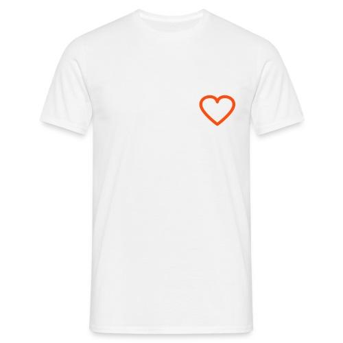 Jeg har et hjerte - Herre-T-shirt