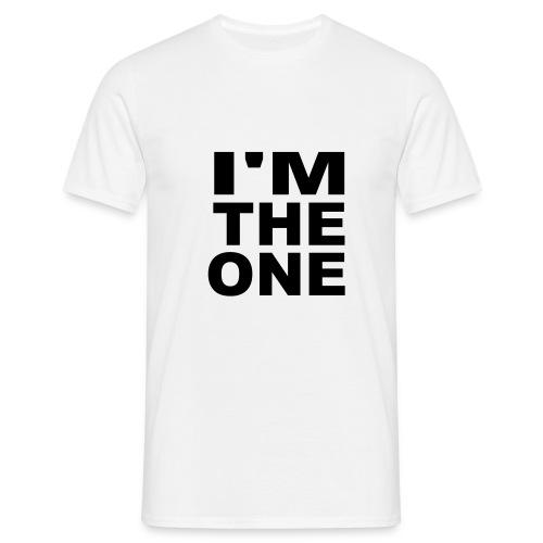 DK-im the one - Herre-T-shirt
